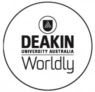 Deakin Worldly Logo Keylinep whitespace